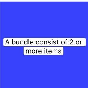 Accessories - Do not bundle 1 item please!